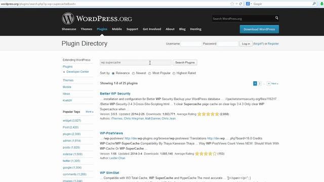 Locating Wordpress Plugins