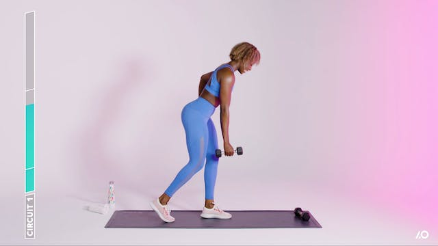 Glutes & Arms Challenge: Dumbbell Glu...