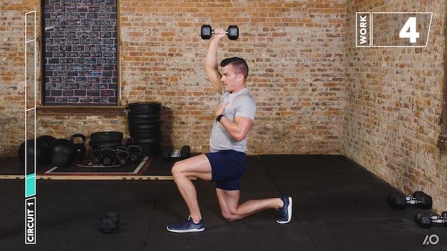 6-Week Sweat Off: Dumbbell Upper Body 1