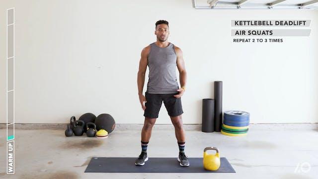 Freeman Method: Swings & Squats