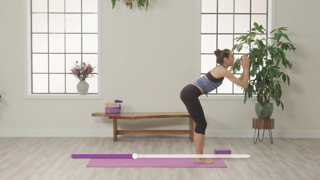 With Yoga: Strengthen & Stretch