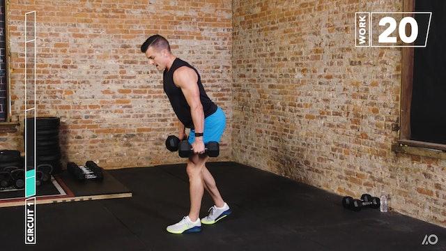 6-Week Sweat Off: Dumbbell Lower Body 1
