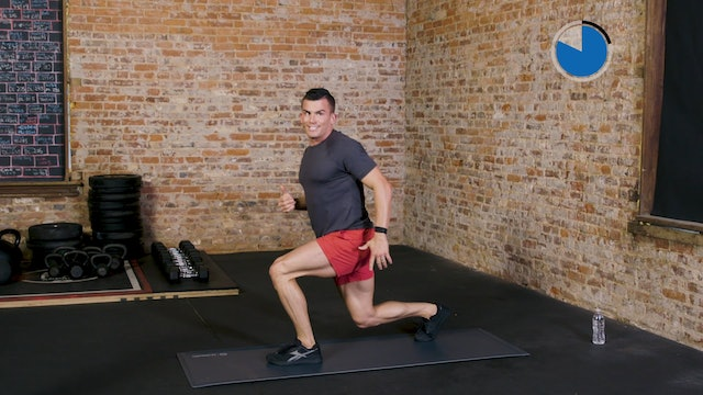 6-Week Sweat Off: Bodyweight Lower Body 1