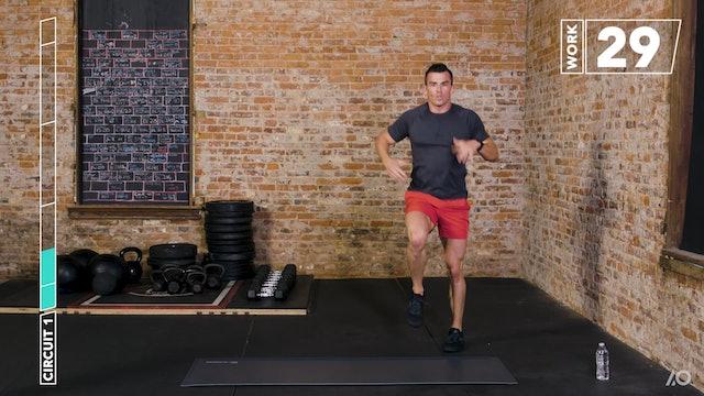 6-Week Sweat Off: Bodyweight Lower Body 1