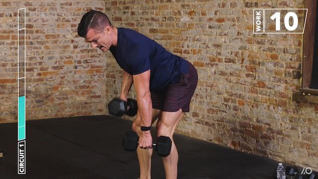 6-Week Sweat Off: Dumbbell Full Body 1