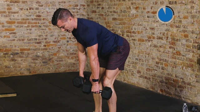 6-Week Sweat Off: Dumbbell Full Body 1