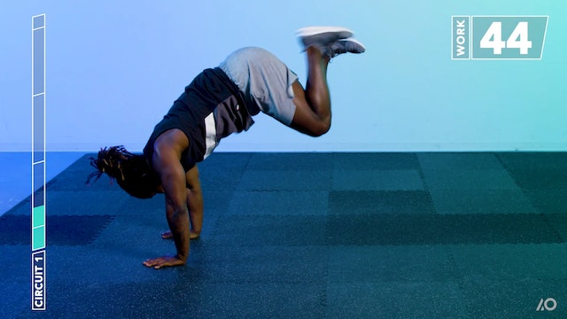 All Out HIIT: Bodyweight Total Body Conditioning