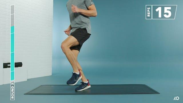 Run Faster: Progressed Hybrid Strength