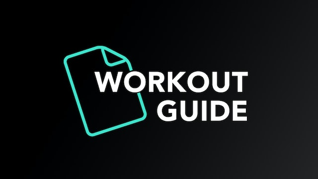 6-Week Sweat Off Workout Guide