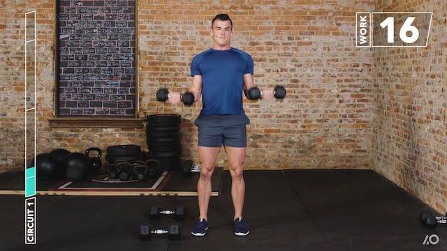 6-Week Sweat Off: Dumbbell Upper Body 2