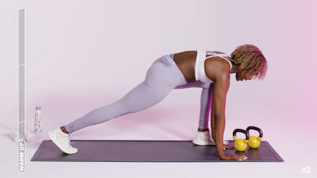 Glutes & Arms Challenge: Kettlebell Arms