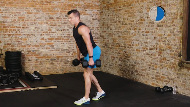 6-Week Sweat Off: Dumbbell Lower Body 1
