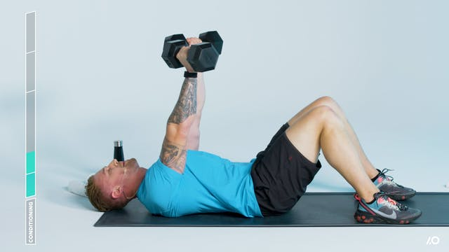 Total-Body Blitz: Chest and Shoulders