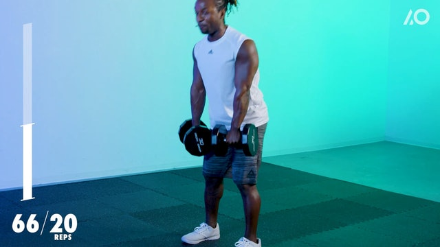 All Out HIIT: Dumbbell Lower Body