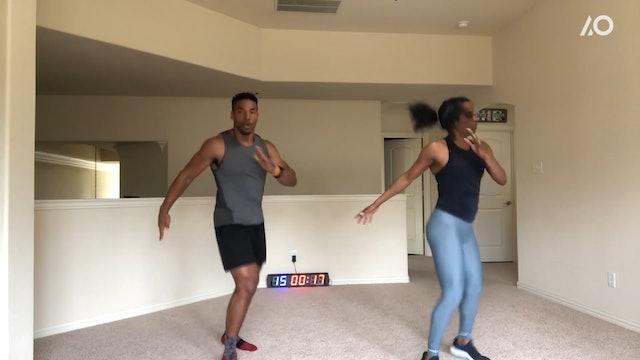 At Home: Sprinter Workout with Mechelle Freeman & David Freeman