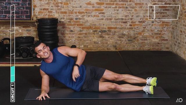 6-Week Sweat Off: Bodyweight Upper Body 1