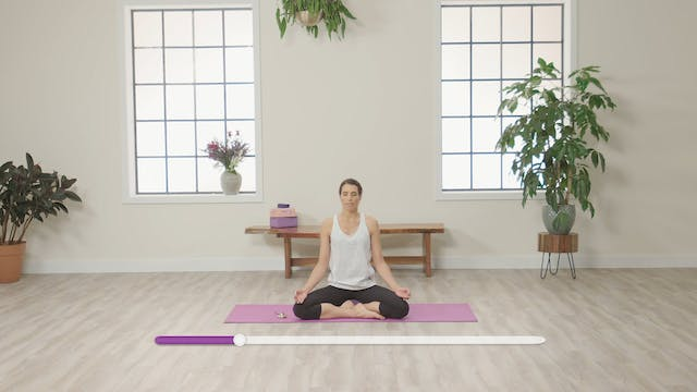 With Yoga: 5-Minute Meditation