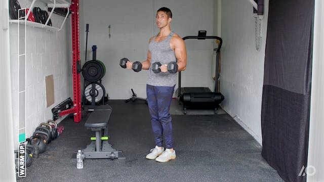 Dumbbell Arm Supersets
