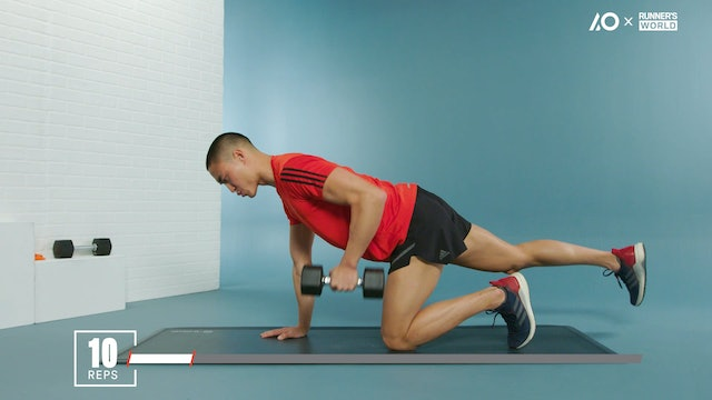 Run Faster: Progressed Stability Strength