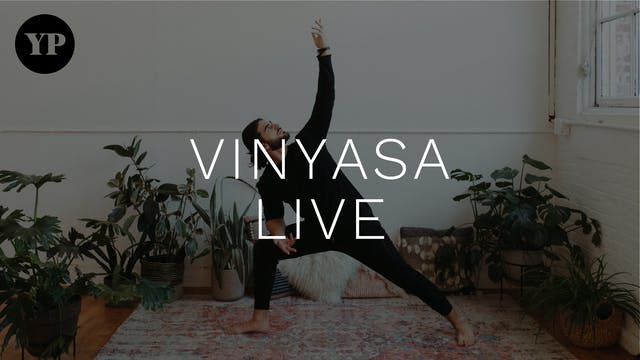 Yoga Pearl Live 5/26: Vinyasa w/ Jess...