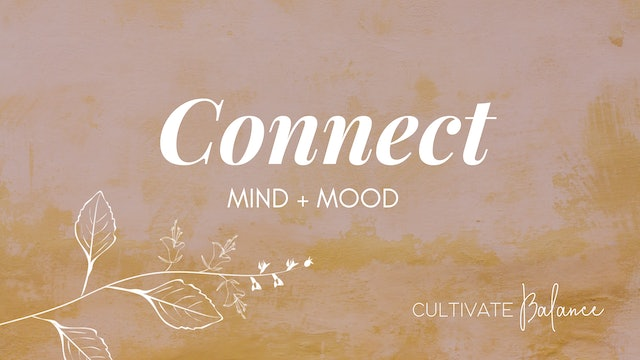 Connect with Cultivate Balance