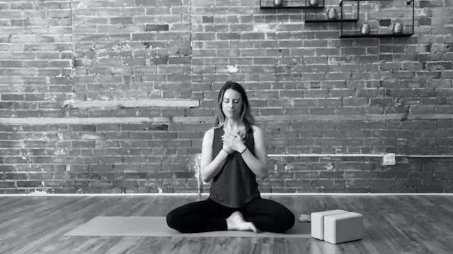 Amana Live from the Studio 5/28: 20 Min Meditation with Alia