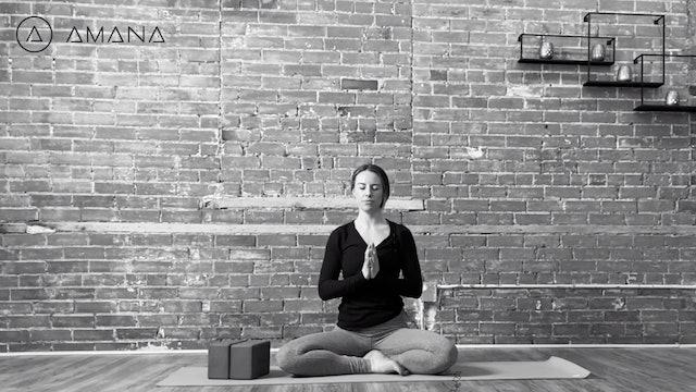 Meditation Prep: Breath Work + Flow with Alia