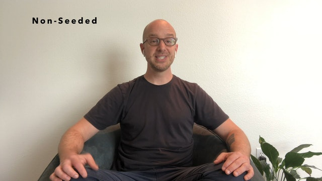 Non-Seeded Meditation with Christopher Miller