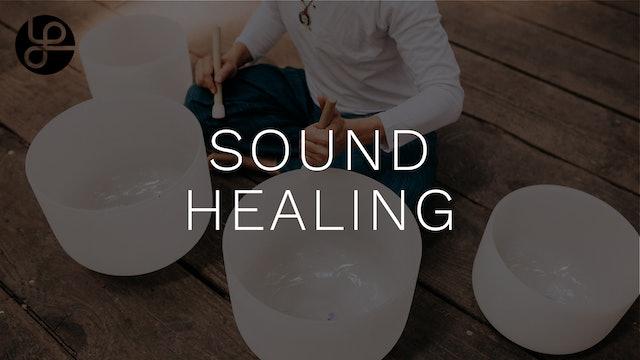 Sound Healing at Yoga Pearl