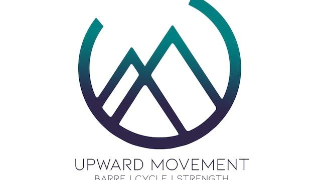 Upward Movement Live 12/15: Up-Beat Barre w/ Valerie (12:00pm MT)