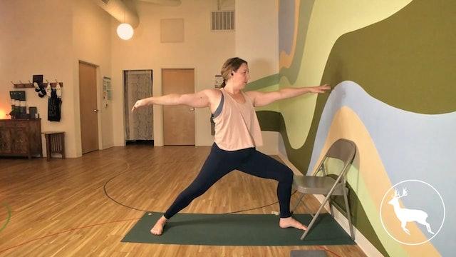 Desk Yoga at Elk Rock