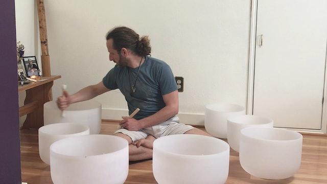 Crystal Bowl Sound Bath with Shalom Mayberg