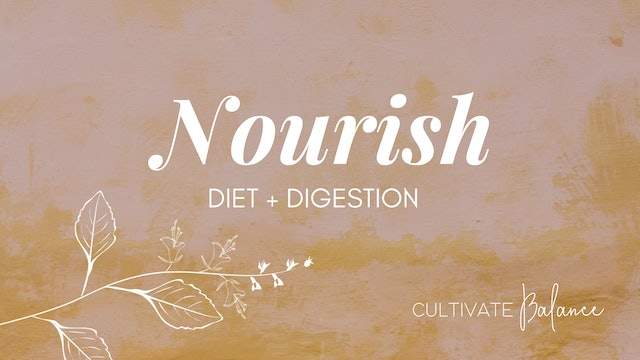 Nourish with Cultivate Balance