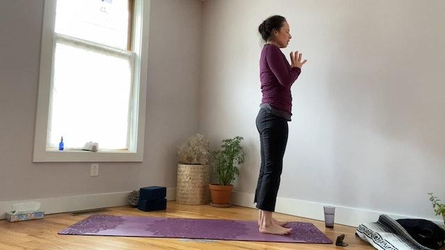 Legs Yoga Class