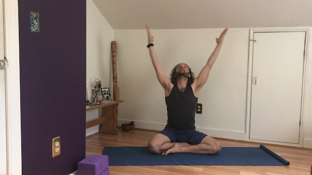 Gentle Warm Ups, Simple Breathwork, and Meditation with Shalom Mayberg