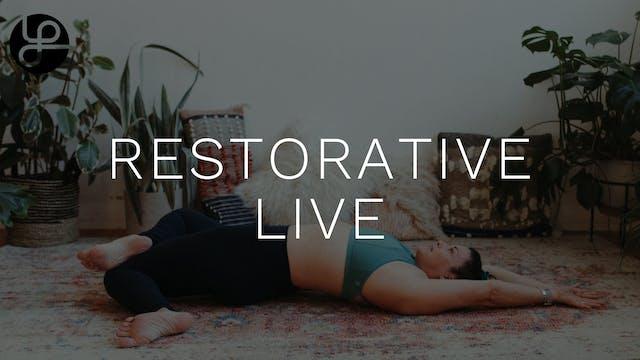 Yoga Pearl New 5/17: Restorative w/ C...