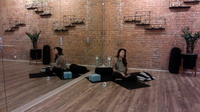 Amana Live 7/29: 75 Min Yin with Rebecca