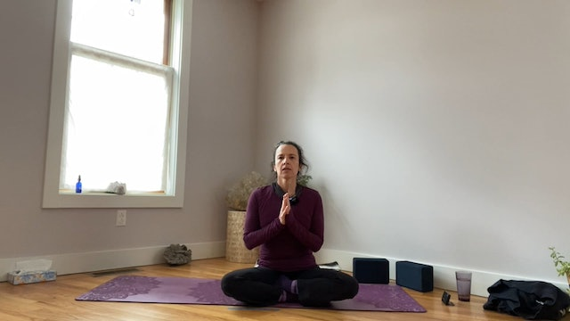 Slow Flow/Yin Mix for Side Body & Chest