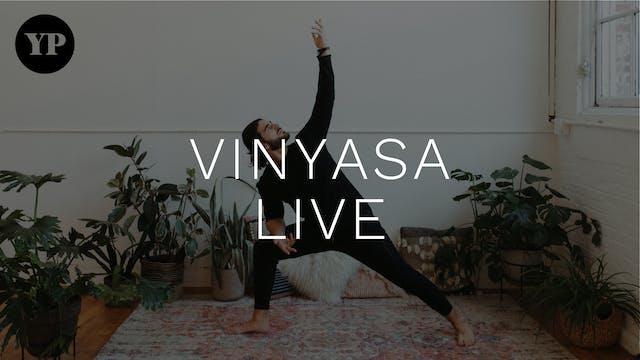 Yoga Pearl Live 6/2: Vinyasa w/ Jessi...