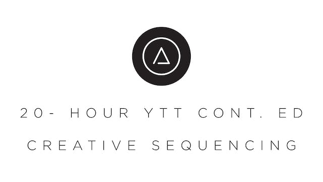 20-Hour Creative Sequencing Continuing Education