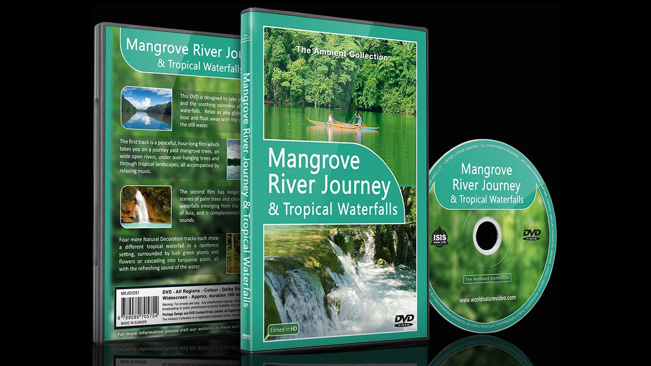 Relaxing Video - Mangrove Journey-Tropical Waterfalls with