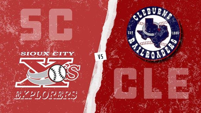 Sioux City vs. Cleburne (8/21/21)