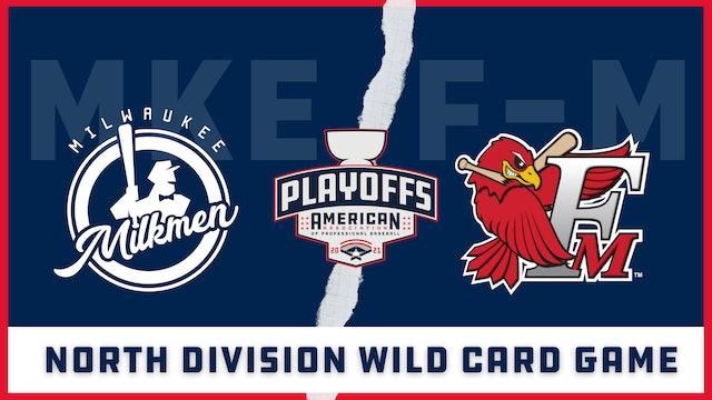 Milwaukee vs. Fargo-Moorhead - Wild Card Game (9/8/21)