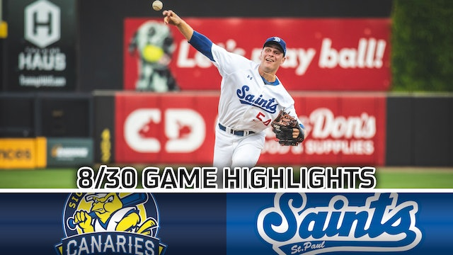 GAME HIGHLIGHTS: 8/30/2020 vs Sioux Falls