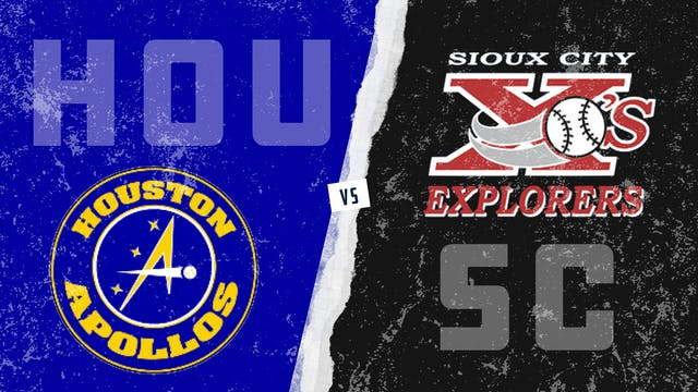 Houston vs. Sioux City (8/24/21)