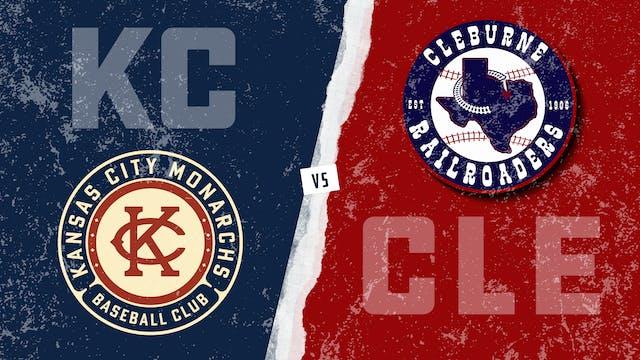 Kansas City vs. Cleburne (9/5/21)