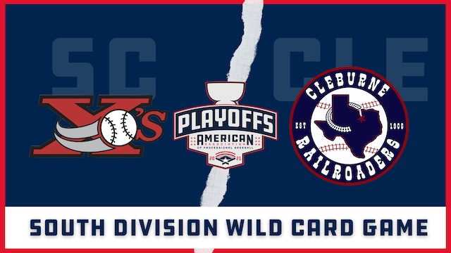 Sioux City vs. Cleburne - Wild Card Game (9/8/21)