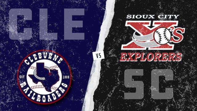 Cleburne vs. Sioux City (8/13/21)
