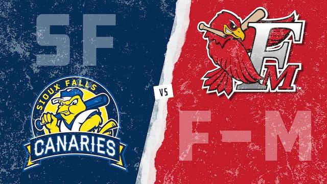 Sioux Falls vs. Fargo-Moorhead (6/20/21)