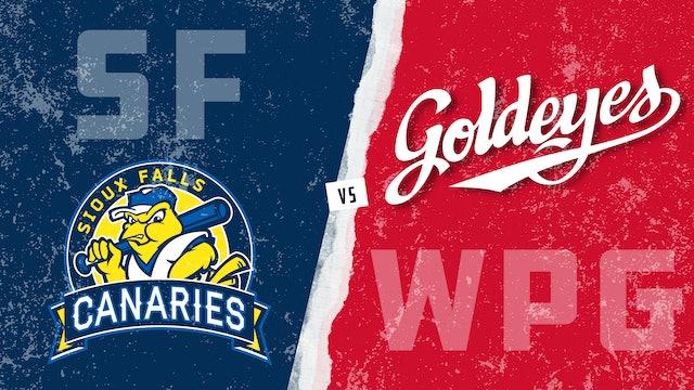 Sioux Falls vs. Winnipeg (6/11/21) - Partial Game